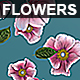 Flowers Falling Background Nulled