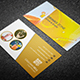 Restaurant Business Card V.02 - GraphicRiver Item for Sale