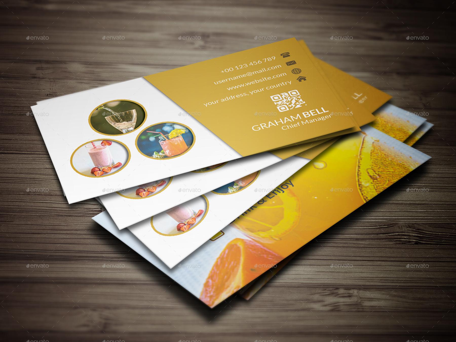 restaurant business card v 02 by dreamseye