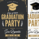 Graduation Invitation - GraphicRiver Item for Sale