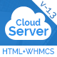 CloudServer | Responsive HTML5 Technology, Web Hosting and WHMCS Template Nulled