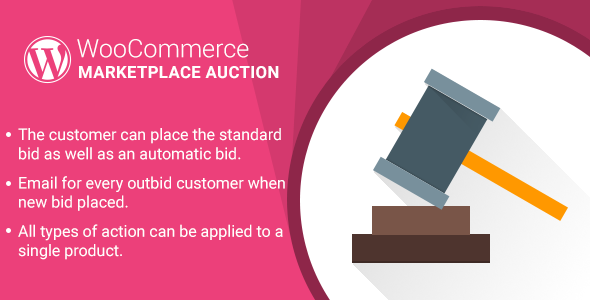 WordPress WooCommerce Marketplace Auction Plugin - CodeCanyon Item for Sale