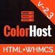 ColorHost | Responsive HTML5 Web Hosting and WHMCS Template Nulled