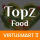 TopzFood - Multipurpose VirtueMart eCommerce Joomla Templates Nulled
