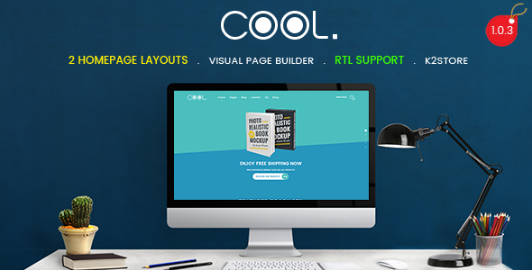 Image of TheCool - Drag and Drop Multipurpose eCommerce Joomla Template