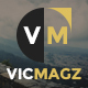 VicMagz - Multipurpose News/Magazine Joomla Template