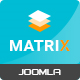 Matrix - Responsive VirtueMart Joomla Template Nulled