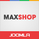 Maxshop - Multipurpose eCommerce Joomla Template Nulled