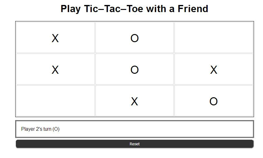 Tic Tac Toe Html  Game By Nikunjpagada  Codecanyon
