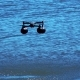 Take-off of the Drone From the Water - VideoHive Item for Sale