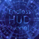 Endless HUD tunnel - VideoHive Item for Sale