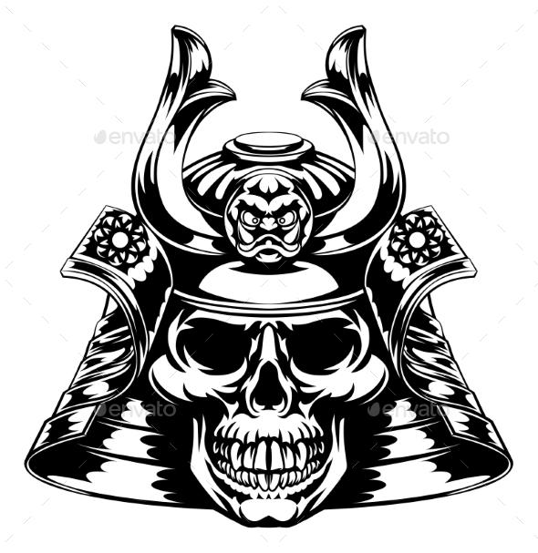 Skull Samurai - Miscellaneous Vectors