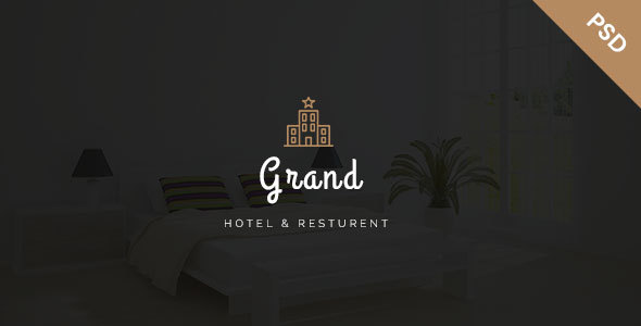 Grand - Hotel & Resturent PSD Template - PSD Templates