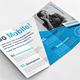 Modern Blue Trifold Brochure - GraphicRiver Item for Sale