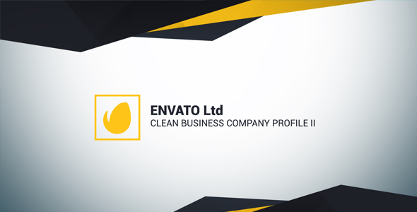 Clean Business Company Profile Ii By Adamfamily  Videohive