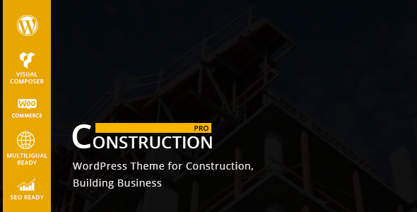 Constructionpro – WP Construction, Building Business
