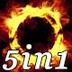 Fire Beat - VJ Loop Pack (5in1) - VideoHive Item for Sale