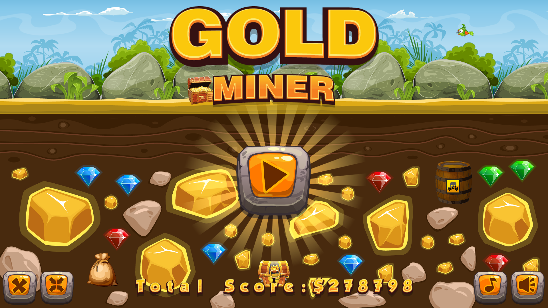 gold mining games - HD1920×1080