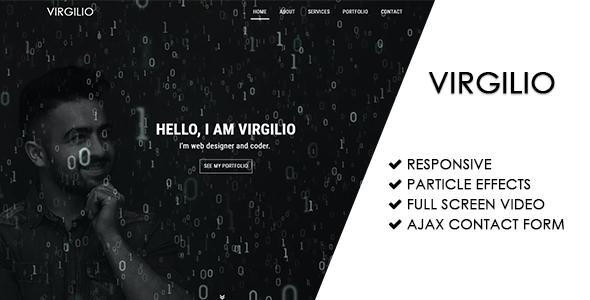 Virgilio | Personal Portfolio Theme - Personal Site Templates