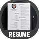 Resume - Cv - GraphicRiver Item for Sale