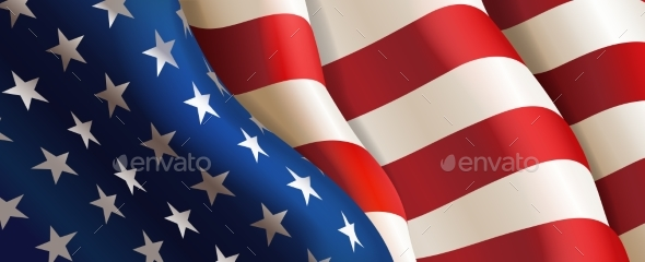 Flag United States of America - Backgrounds Decorative