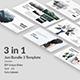 Jun Bundle 3 - Minimal Powerpoint Template - GraphicRiver Item for Sale