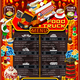 Food Truck Menu Street Food Chinese Wok Festival Vector Poster - GraphicRiver Item for Sale