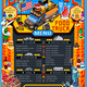 Food Truck Menu Street Food Grill BBQ Festival Vector Poster - GraphicRiver Item for Sale
