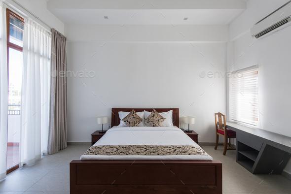 Interior design: Big modern Bedroom - Stock Photo - Images
