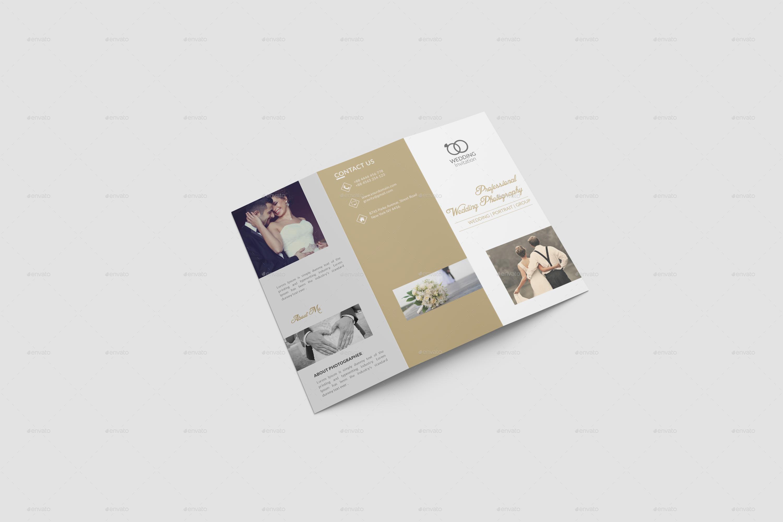 Wedding Brochure Template By DesignHaunt GraphicRiver - Wedding brochure template