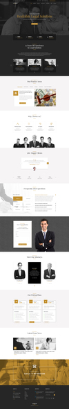 06 unique lawfirm landing template.  thumbnail