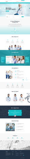 07 unique medical psd template.  thumbnail