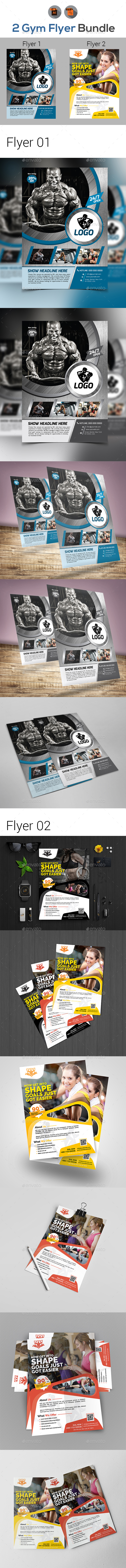 Fitness Flyer Bundle - Corporate Flyers