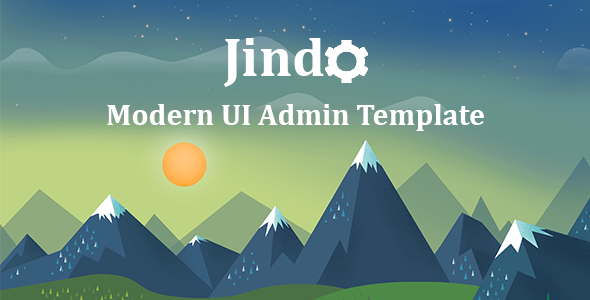 Jindo – Modern UI and Responsive Admin Dashboard Template