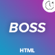 BOSS - Coming Soon Template - ThemeForest Item for Sale