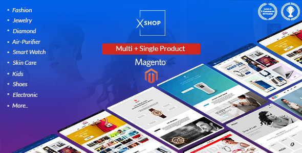 Image of Xshop - Multi Store Magento 2  Theme