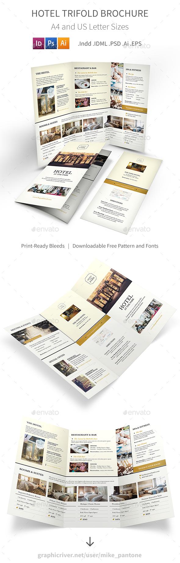 Hotel Trifold Brochure 6 - Informational Brochures