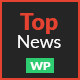 TopNews - News Magazine Newspaper Blog Viral & Buzz WordPress Theme Nulled