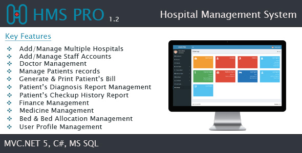 HMS - Hospital Management System - SaaS - CodeCanyon Item for Sale