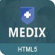 Medix Medical HTML5 Template - ThemeForest Item for Sale