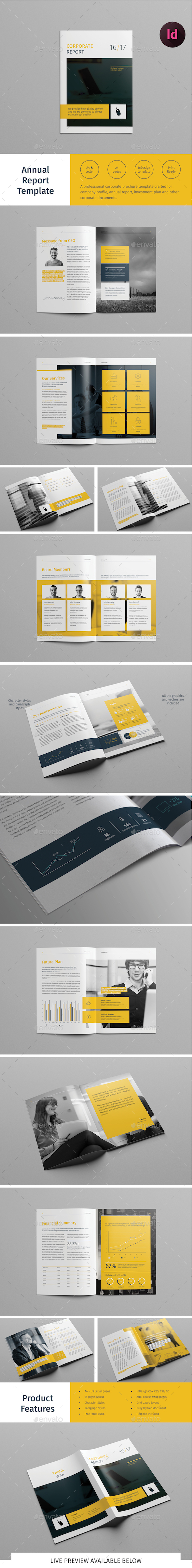 Report Template - Informational Brochures