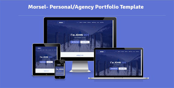 Morsel- Personal/Agency Portfolio Template by Theme_Choices
