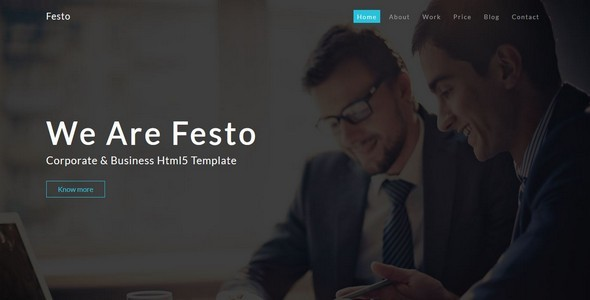 Festo- Multipurpose Corporate Bootstrap Template