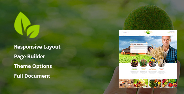 Eco Farm – Organic Food & Eco Farm WordPress Theme