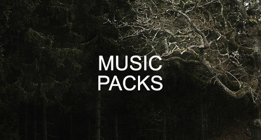 Music Packs (-50% discount)