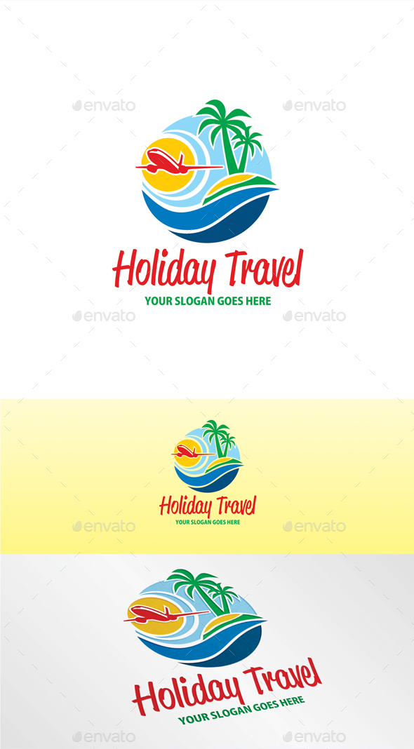 Holiday Travel Logo - Nature Logo Templates