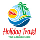 Holiday Travel Logo - GraphicRiver Item for Sale
