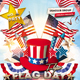 Flag Day July 4th Flyer - GraphicRiver Item for Sale