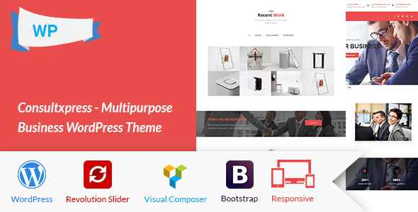 Consultxpress - Multipurpose Business WordPress Theme - Business Corporate