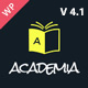 Academia - Responsive Education Theme For WordPress Nulled